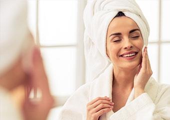 Gözenekleri sıkılaştıran sabunlar