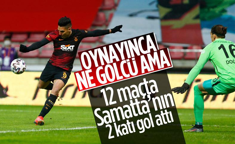 Radamel Falcao gollerle döndü