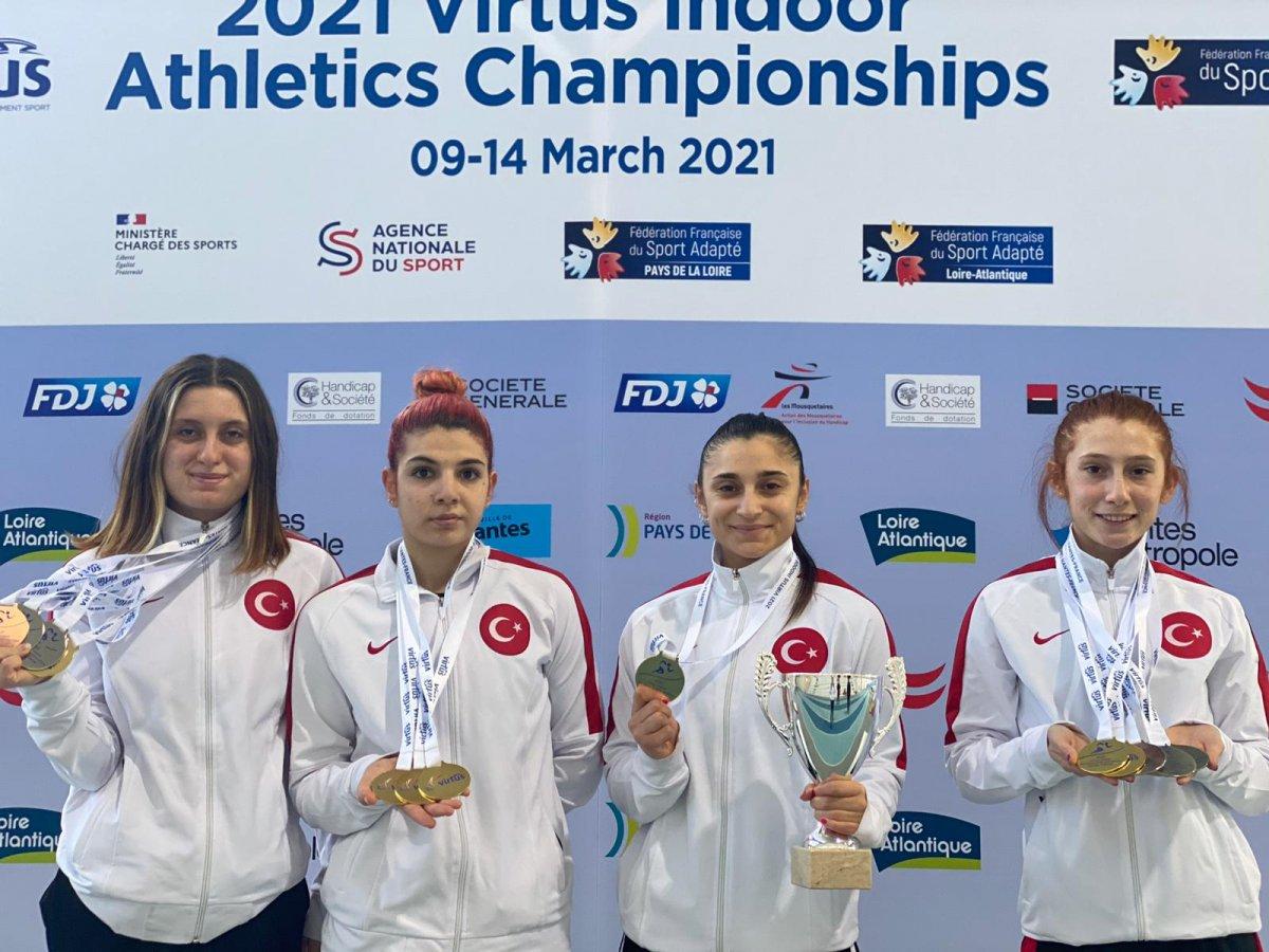 VIRTUS Avrupa Salon Atletizm Şampiyonası nda Türkiye, Avrupa şampiyonu oldu #1
