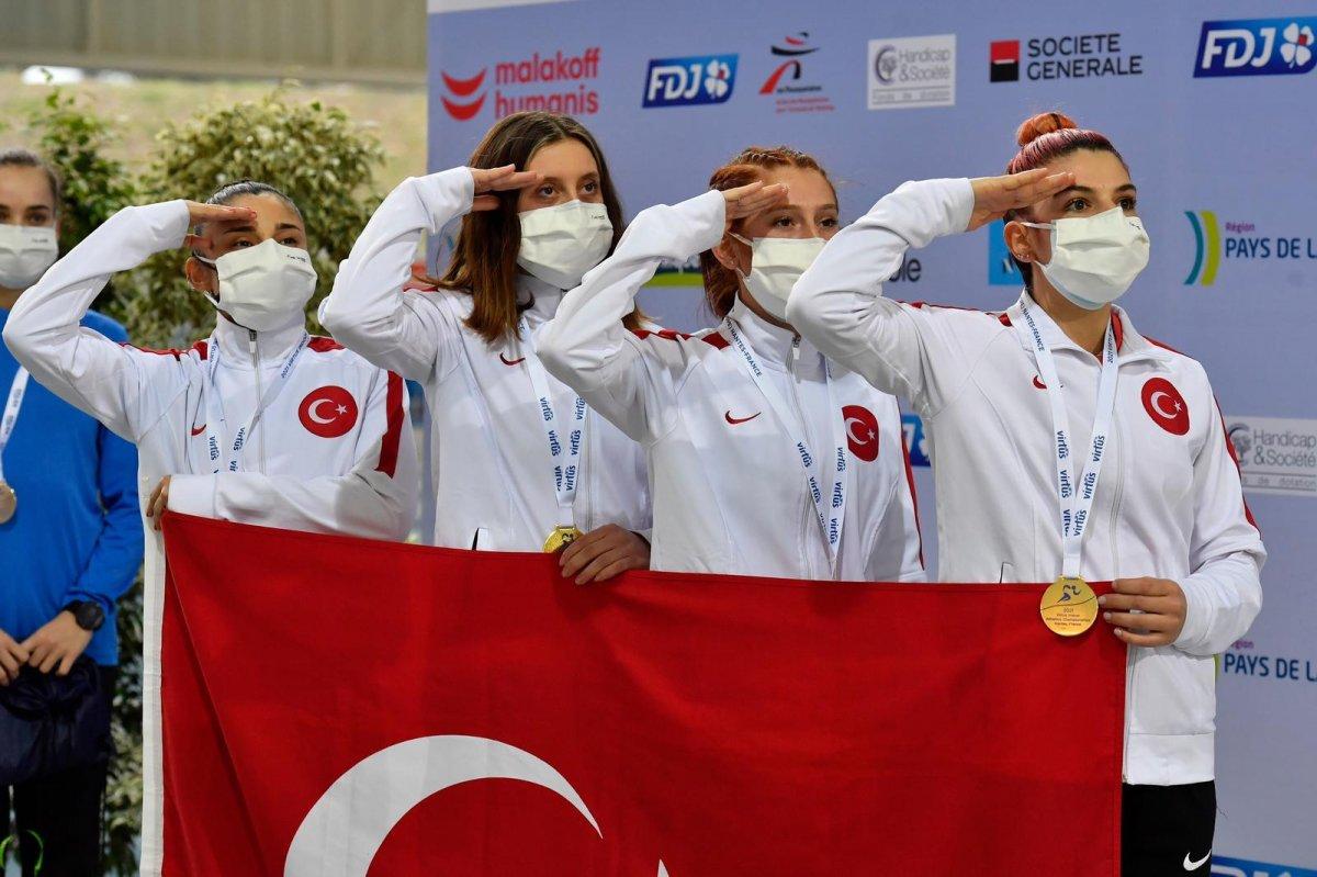 VIRTUS Avrupa Salon Atletizm Şampiyonası nda Türkiye, Avrupa şampiyonu oldu #2