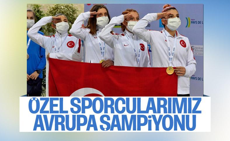 VIRTUS Avrupa Salon Atletizm Şampiyonası'nda Türkiye, Avrupa şampiyonu oldu
